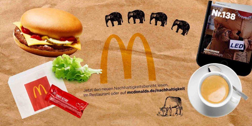 McDonald's Nachhaltigkeits Erklärfilme