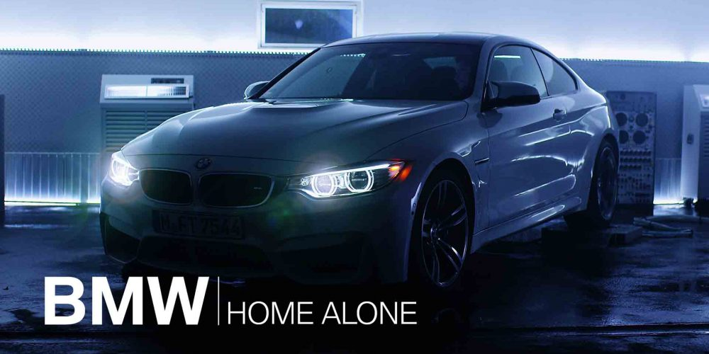 BMW Connected Drive Home Alone