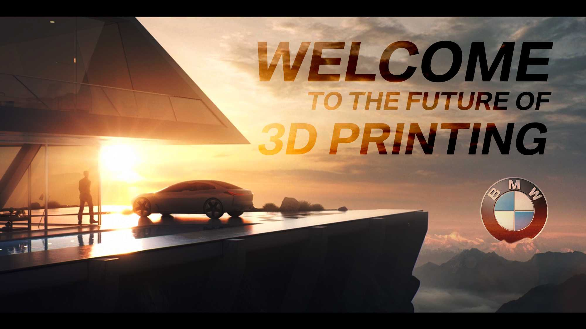 BMW Group – 3D Druck/Additive Manufacturing Campus