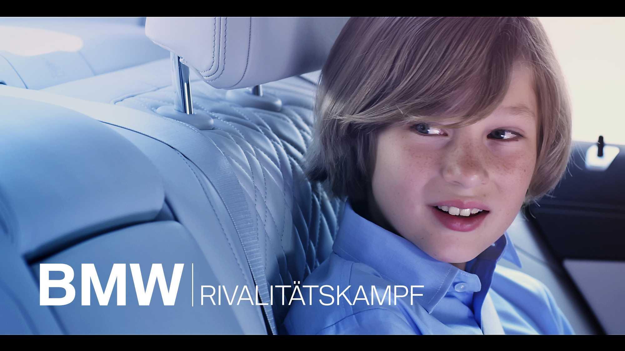 BMW Connected Drive Rivalitätskampf