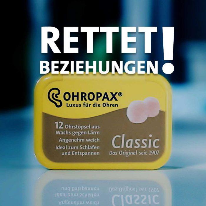 Ohropax Haussegen – Kino Werbefilm