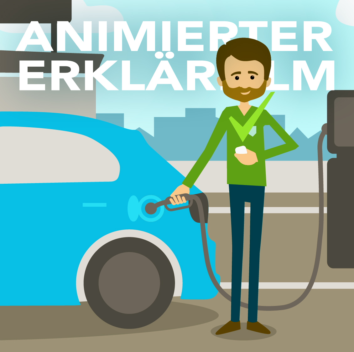 Digital animierter Erklärfilm