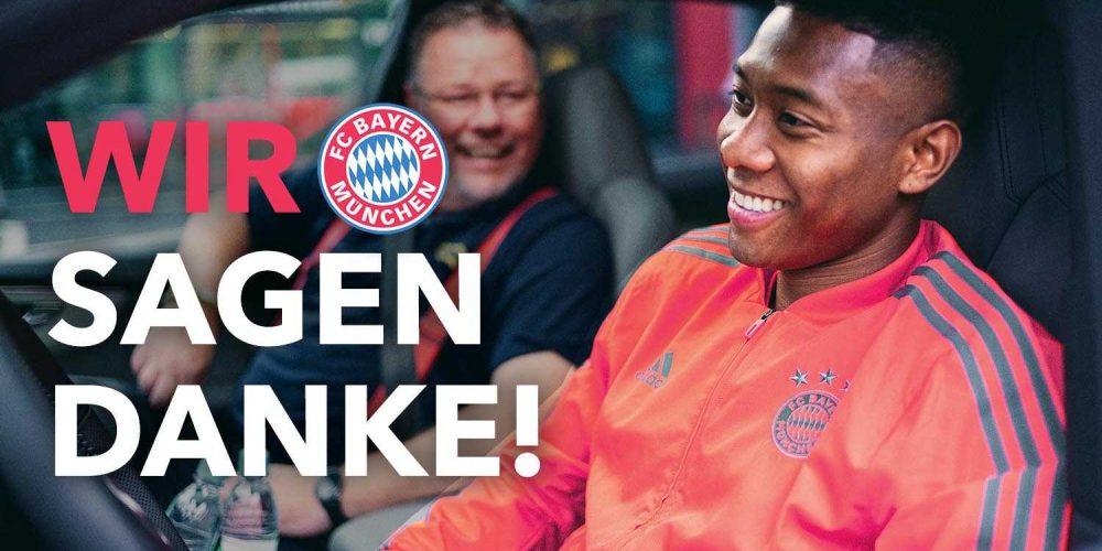 Audi | FC Bayern München Ehrenrunde
